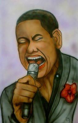 American Idol Drawing - American Idol by Pete Maier