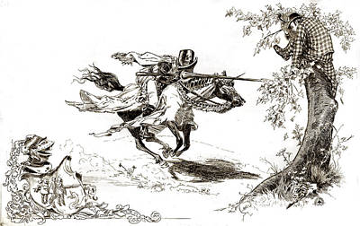 Carter Photograph - American Illustration, Knight In Armor by Everett