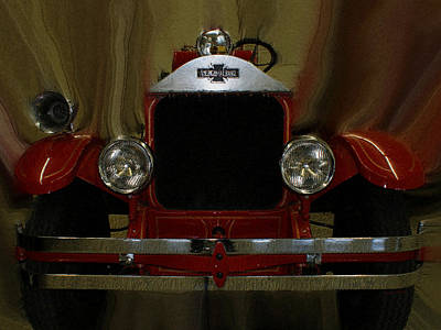 Photograph - American Lafrance  by Ernie Echols