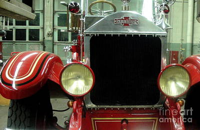 Studio Grafika Patterns Rights Managed Images - American Lafrance Fire Truck Royalty-Free Image by Kevin Fortier