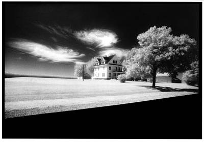 Infrared Lights And Lighting Photograph - American Landscape by Greg Kopriva