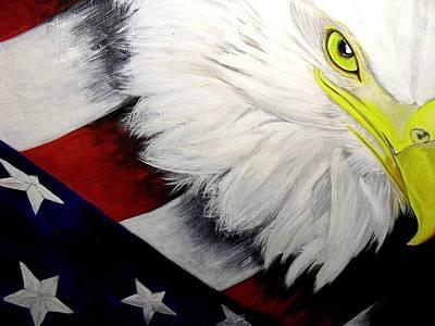Melissa Torres Painting - American Pride by Melissa Torres