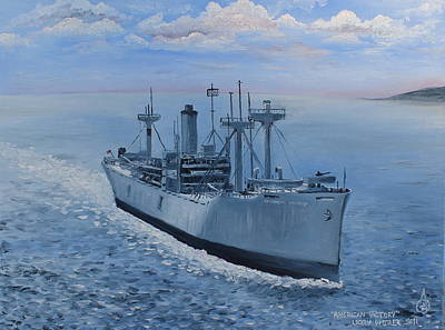 American Victory Print by Larry Whitler