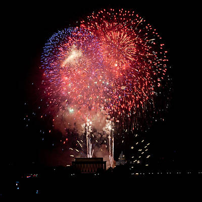 America's Celebration Art Print by David Hahn