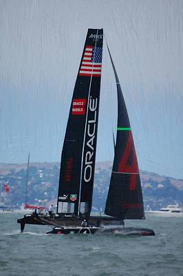 America's Cup World Series - Oracle-spithall Art Print