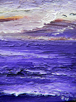 Painting - Amethyst Sea by Christy Usilton