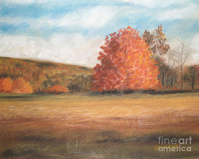 Amid The Tranquil Presence Of Change Art Print by Lisa Urankar