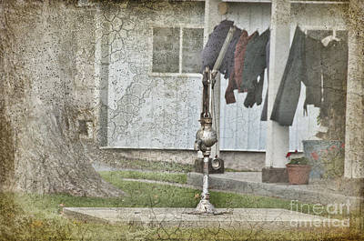 Amish Photograph - Amish Pump And Cup by David Arment