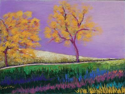 Painting - Amish Trees by Karin Eisermann