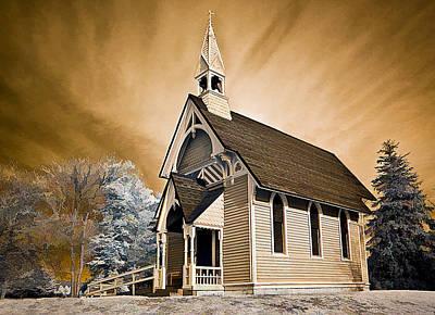 Photograph - Amityville Chapel by Steve Zimic