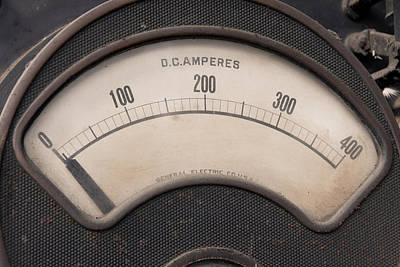 Amperage Photograph - Amped Up by Grease and Concrete