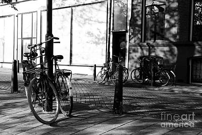 Photograph - Amsterdam Bicycles by Dean Harte