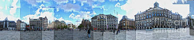 Amsterdam - Dam Square - 01 Art Print by Gregory Dyer
