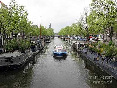 Photograph - Amsterdam In Spring 02 by Ausra Huntington nee Paulauskaite