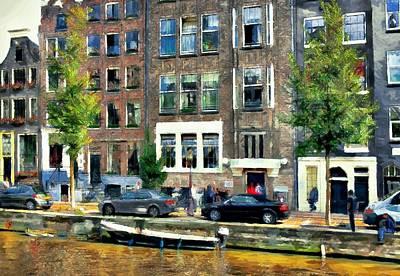 Amsterdam Digital Art - Amsterdam Tour  Canals1 by Yury Malkov