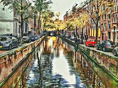 Amsterdam Tour  The Fall Art Print