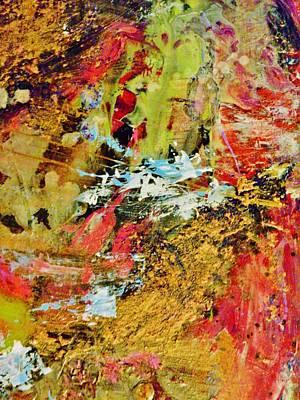 Abstractabstract Painting - Amusement Park by Marina R Raimondo