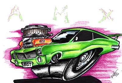 AMX Art Print by Big Mike Roate