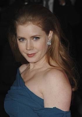 Bestofredcarpet Photograph - Amy Adams At Arrivals For 22nd Annual by Everett