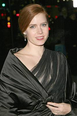 Diamond Earrings Photograph - Amy Adams At Arrivals For The 2008 by Everett