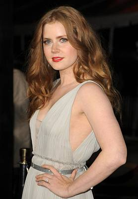 Bestofredcarpet Photograph - Amy Adams At Arrivals For The Fighter by Everett