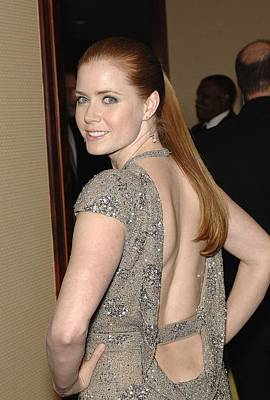 Amy Adams Wearing A Jasmine Di Milo Art Print