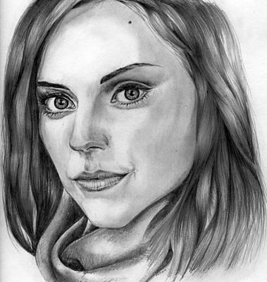 Mcdonalds Drawing - Amy Mcdonald by Peter Martin