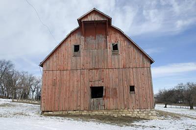 An Abandoned Farm Near Otoe, Nebraska Art Print by Joel Sartore