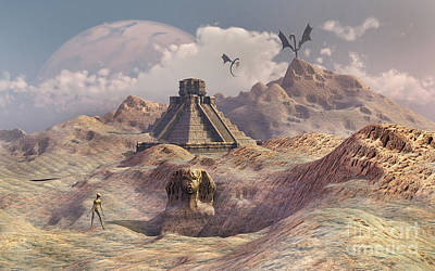 Fathers Day 1 - An Alien World With Earth-like by Mark Stevenson