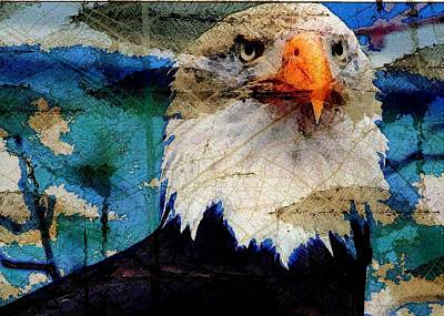American Bald Eagle Art Print by Carrie OBrien Sibley