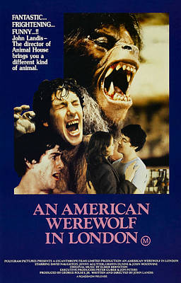 An American Werewolf In London, David Art Print