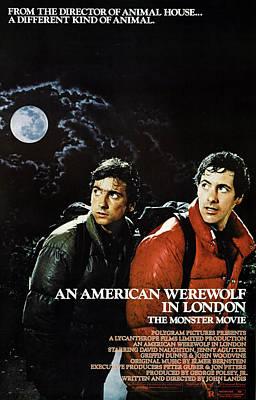 An American Werewolf In London, Griffin Art Print by Everett