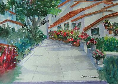 An Andalucian Street Art Print