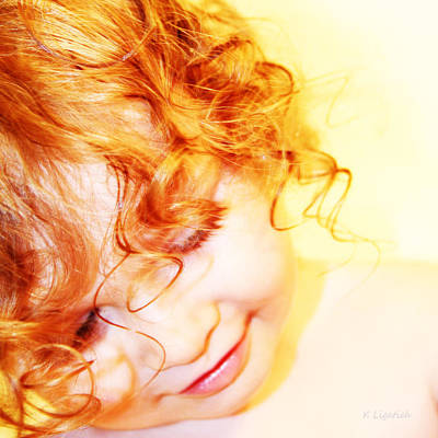 Photograph - An Angels Smile by Kerri Ligatich