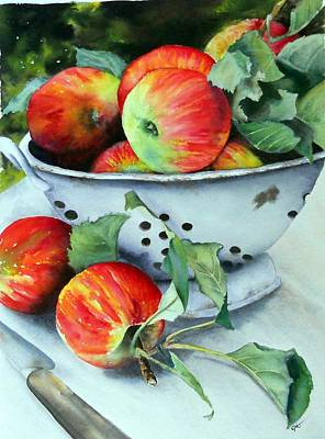 Painting - An Apple A Day. by Carol McLagan