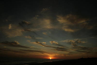 Photograph - An Atlantic Sunset by Christopher Kirby