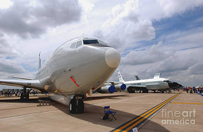 Photograph - An E-8c Joint Surveillance Target by Stocktrek Images