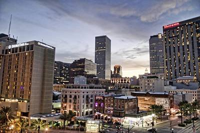 Nola Digital Art - An Evening In New Orleans by Alicia Morales