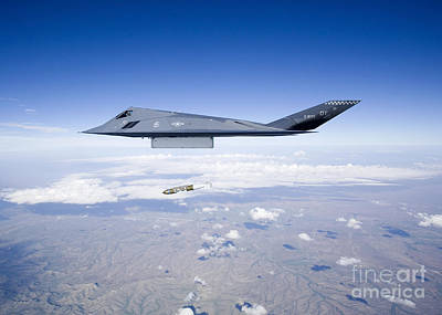 Jolly Old Saint Nick - An F-117 Nighthawk Releases A Gbu-31 by HIGH-G Productions