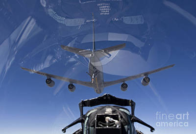The Window Up Above Photograph - An F-15 Eagle Pulls Into Position by HIGH-G Productions