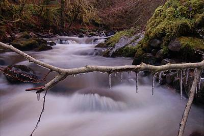 Photograph - An Icy Flow by Gavin Macrae