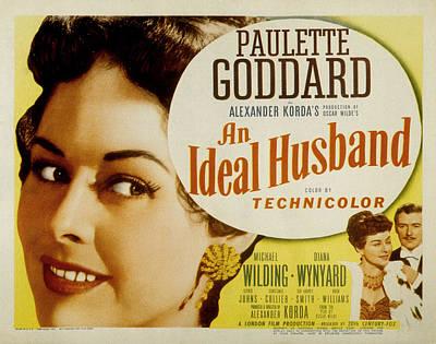 Posth Photograph - An Ideal Husband, Paulette Goddard by Everett