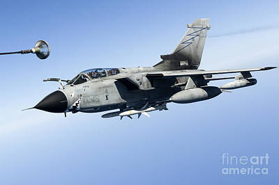 An Italian Air Force Tornado Ids Print by Gert Kromhout