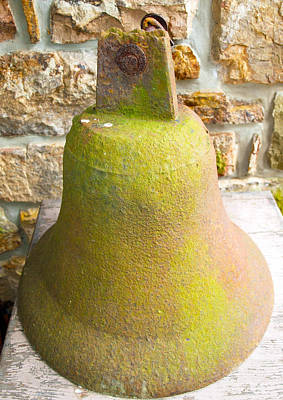 Photograph - An Old Bell by Robert Margetts