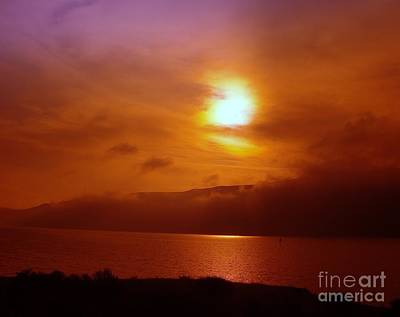 Old Masters Royalty Free Images - An Orange Sky  Royalty-Free Image by Jeff Swan