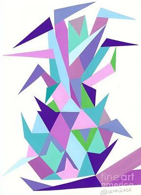 Ananas No.4 Art Print by Roswitha Schmuecker