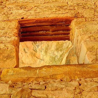Desert Photograph - #anasazi #cliffdwelling #ancient by Gary Whitton