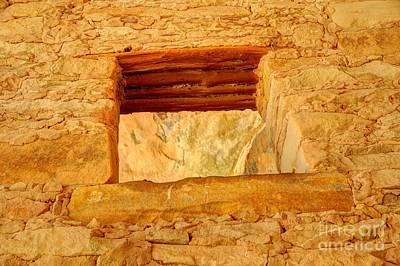 Keith Richards - Anasazi Window - Tower Ruins - Comb Ridge by Gary Whitton