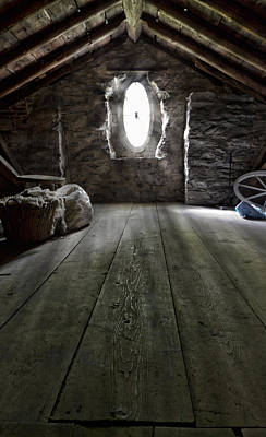 Lancaster Photograph - Ancient Attic by Peter Chilelli