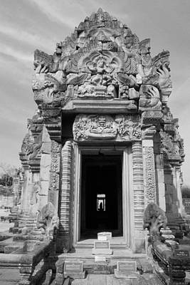 Ancient Castle At Thailand. Art Print by Phalakon Jaisangat